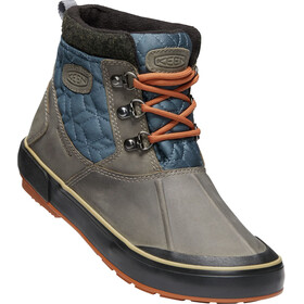 Keen Elsa II Ankle Quilted WP Shoes Women grey/blue